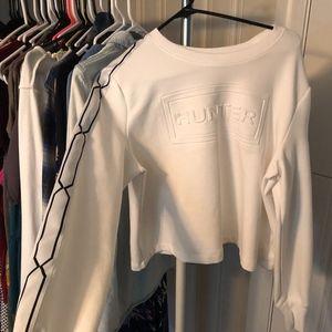 Cropped Hunter Sweatshirt NWOT